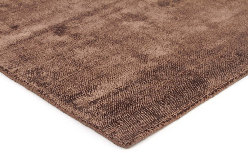 Twilight-Luxe Modern Distressed Rug Brown-RUG HOME