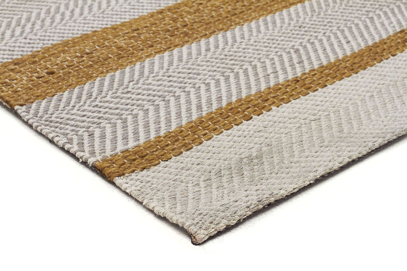 Urban-Norse Flatweave Rug Yellow-RUG HOME