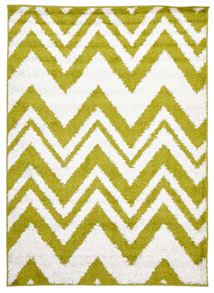 Viva-Chevy Shag Rug Lime-RUG HOME