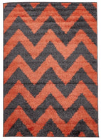 Viva-Viva Collection 811 Rust Rug-RUG HOME