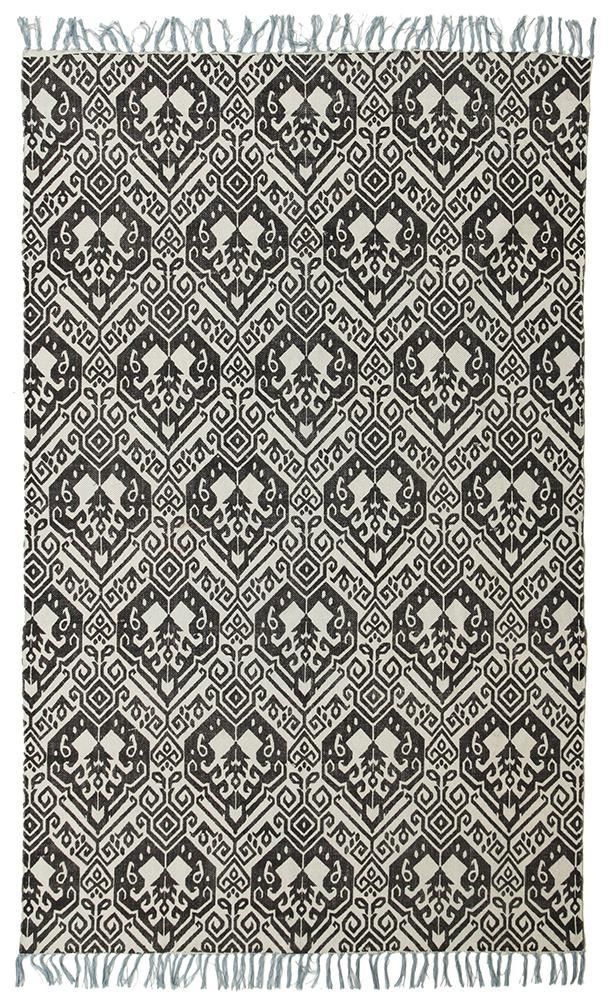 Zulu-Totemic Tameless Black Rug-RUG HOME
