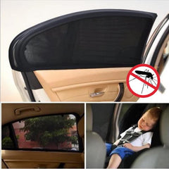 UNIVERSAL CAR WINDOW SUN SHADE - KEEPS YOUR CAR COOL! 2pc