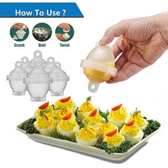 Grilladdicts Egglettes Maker (6 Pack)
