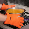 Heat resistant BBQ Gloves Oven Mitts