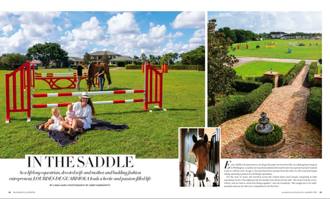 Milou Palm Beach PB Illustrated Article