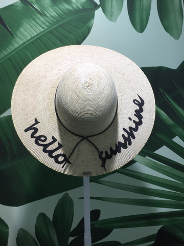 Maria Chilli hello sunshine hat - Milou Palm Beach