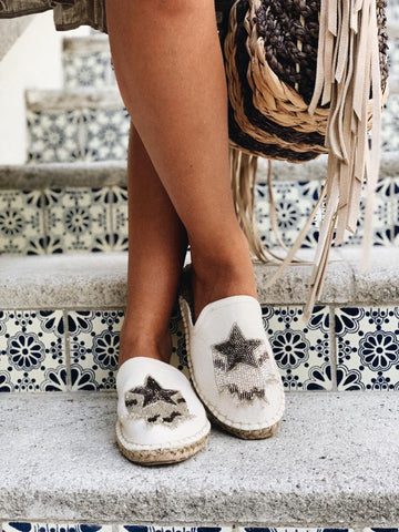 Star Espadrille Shoes - Milou Palm Beach