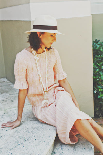 Cecilie Tong Dress - Milou Palm Beach