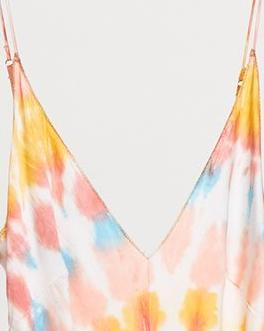 Spiral Dye Slip Dress- Size S/M - Milou Palm Beach