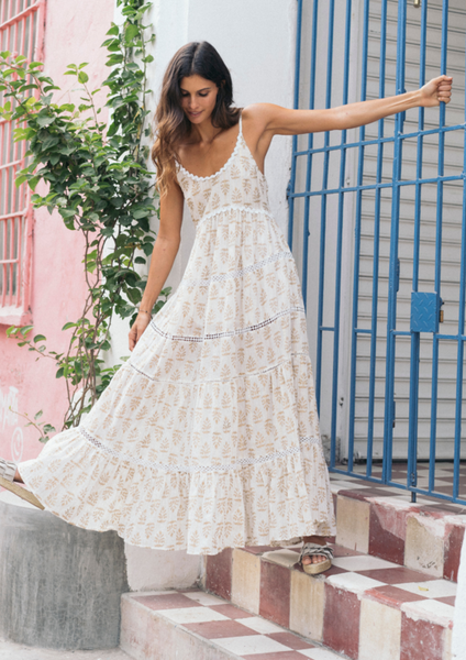 Canyon Strappy Dress - Milou Palm Beach