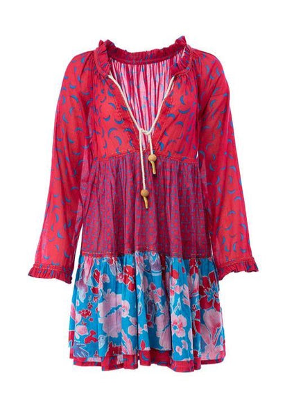 Gemini Short Tunic Dress - Milou Palm Beach