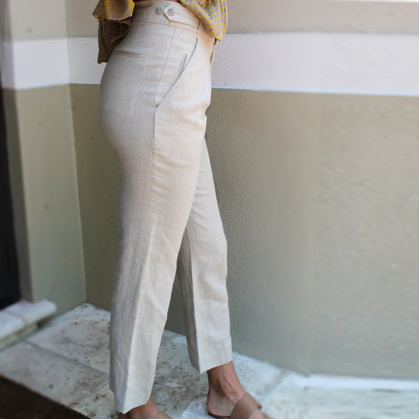 Alvin Valley Natural Tan Pant - Milou Palm Beach