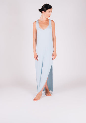Classic Tank Dress Blue - Milou Palm Beach