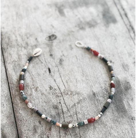 Amuleto Beaded Necklace