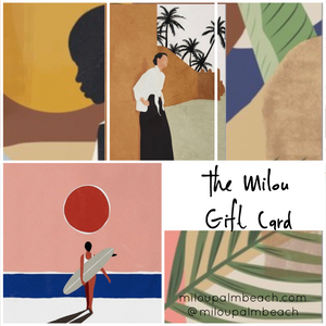 Gift Card - Milou Palm Beach