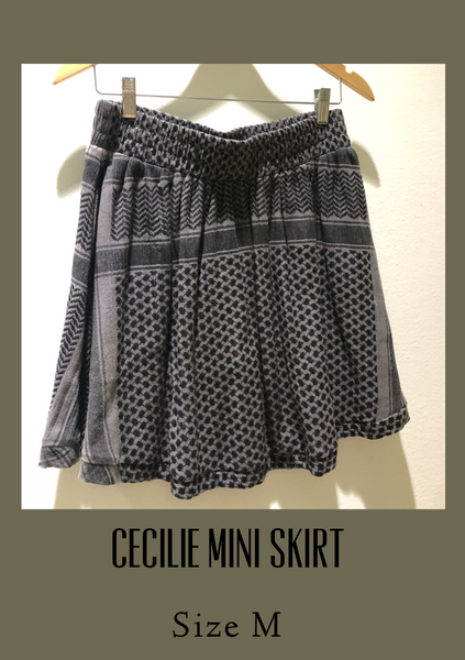 Cecilie Skirt with Pockets - Milou Palm Beach