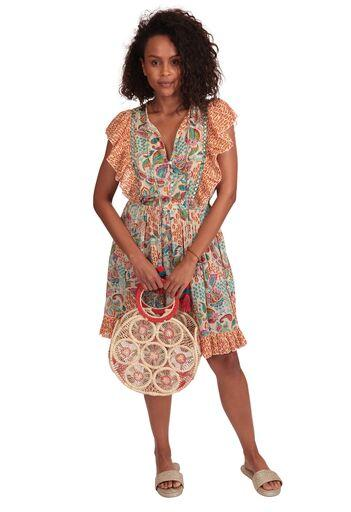 Isabel Short Mini Dress - Milou Palm Beach