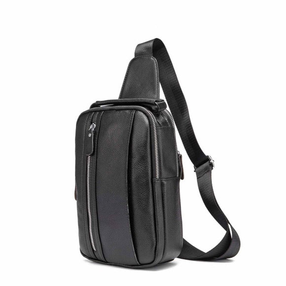 Leather Fashion Crossbody Bag for Men