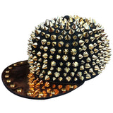 HOT!! Spiked Studded Cap