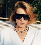 Celebrity Inspired Gold Metal  Sunglasses