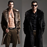 Faux Fur Long Coat