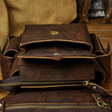 Real Leather Waist Bag