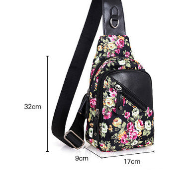 Floral Cross Shoulder Bag