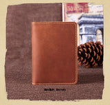 Genuine Leather Passport Cover
