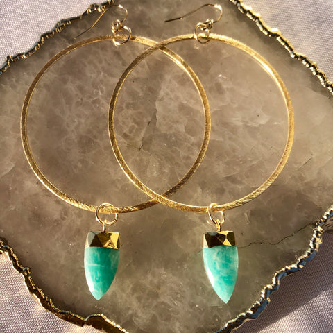 Paradise Teardrop Earrings
