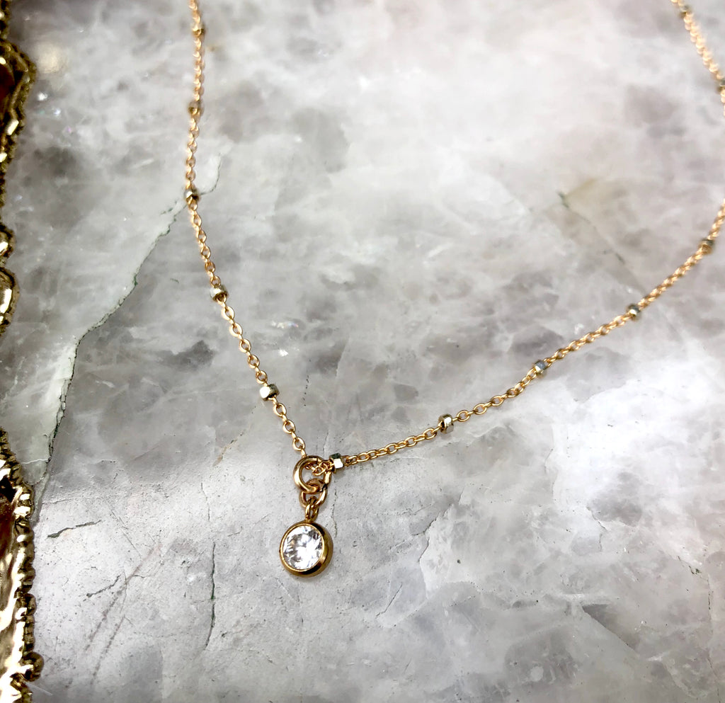 Olivia Charm Necklace