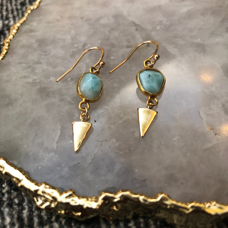 Larimar Dreams Earrings