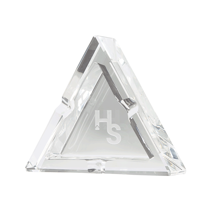 Higher Standards Glass Ashtray