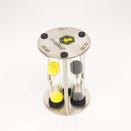 ErrlyBird 3 in 1 Sand Timer & Carb Cap