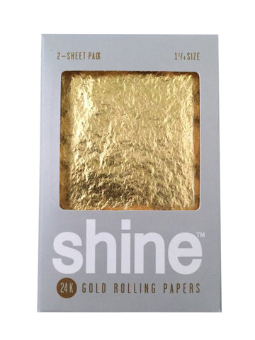 Rolling Papers Regular Size 2 Pack 24k Gold