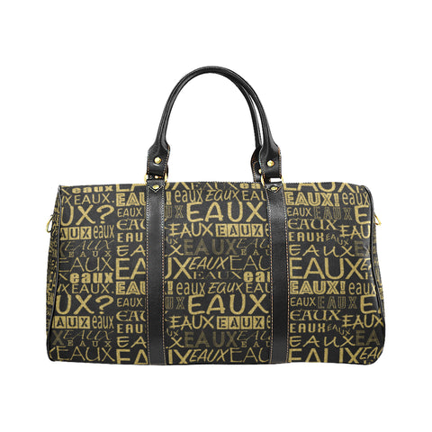 GOLD ALLEAUXVER EAUX SMALL TRAVEL BAGS