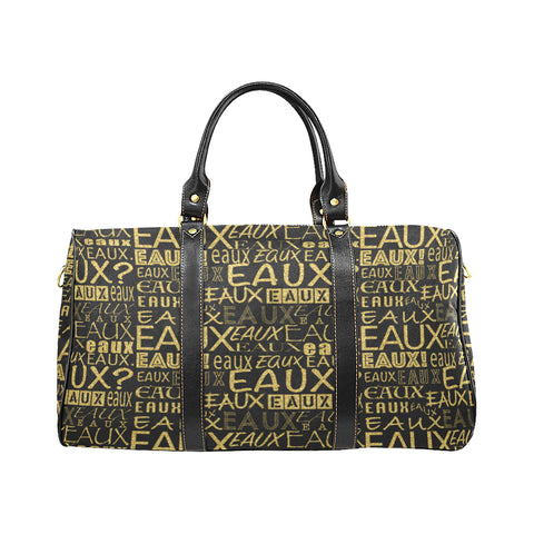 GOLD EAUX ALLEAUXVER LARGE TRAVEL BAGS