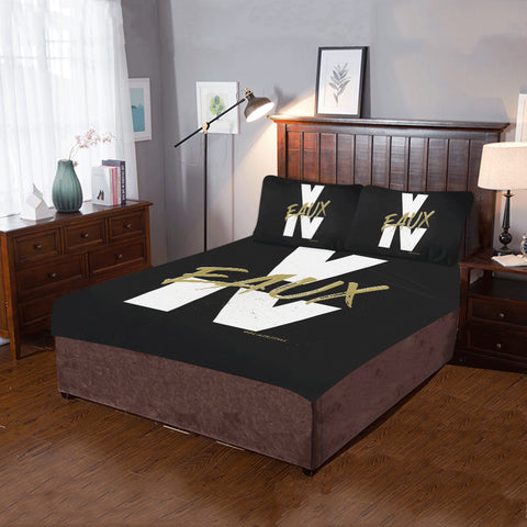 V EAUX IV BEDDING SETS ( 1 DUVET COVER & 2 PILLOW CASES)