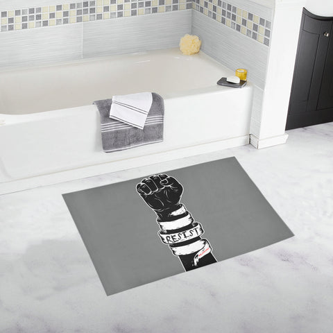 RESIST FIST BATH MATS