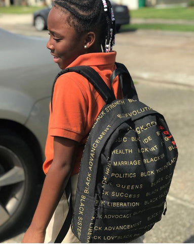 Black Magic Backpack Celebrate Blackness Melanin Greatness