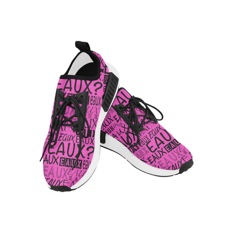 BLACK ALLEAUXVER WOMEN'S RUNNING SHOES