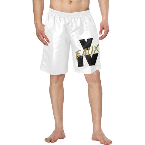 BLACK/GOLD V EAUX IV SHORTS