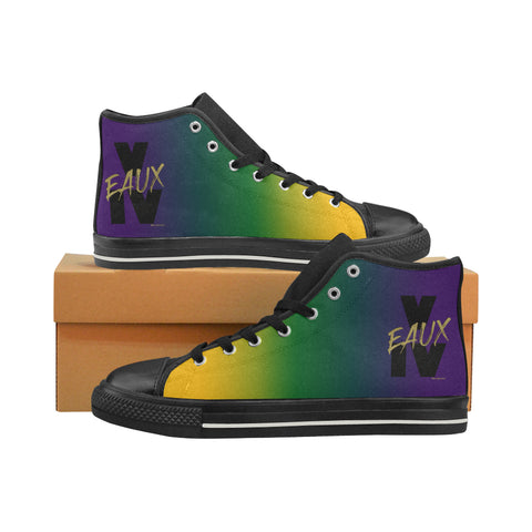 MARDI GRAS MEN'S V EAUX IV HI TOP SHOES