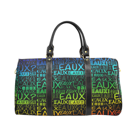 RAINBEAUX/RED/BLACK/GREEN ALLEAUXVER EAUX SMALL TRAVEL BAGS