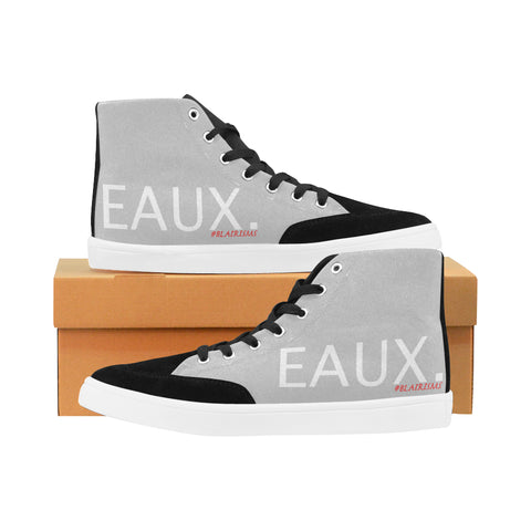 WHITE EAUX. WOMEN'S HI-TOP SHOES