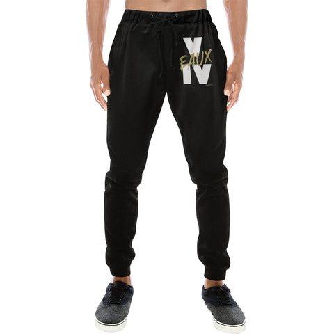 WHITE FIVE EAUX FEAUX JOGGERS