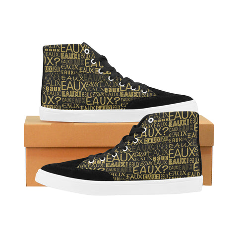 GOLD ALLEAUXVER WOMEN'S HI-TOP SHOES