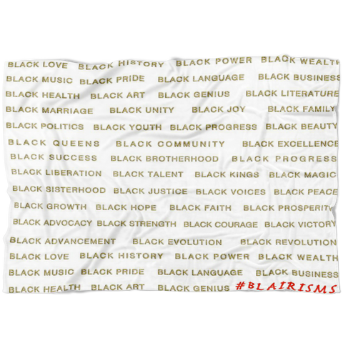 GOLD BLACK MAGIC BLANKET