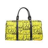 BLACK EAUX ALLEAUXVER LARGE TRAVEL BAGS