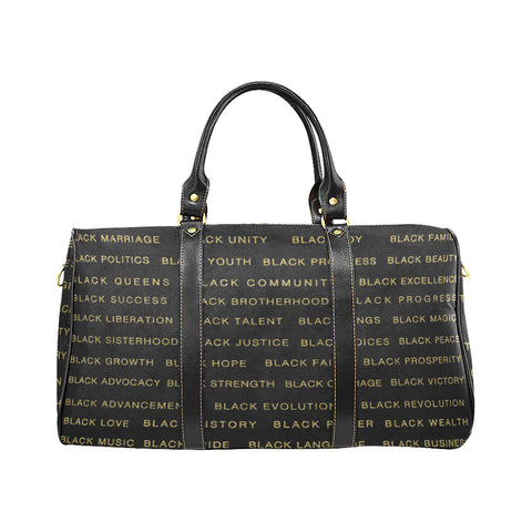 BLACK MAGIC ALLEAUXVER LARGE TRAVEL BAG