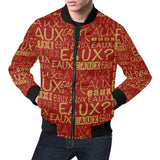 GOLD/RED/GREEN/RAINBEAUX ALLEAUXVER JACKETS